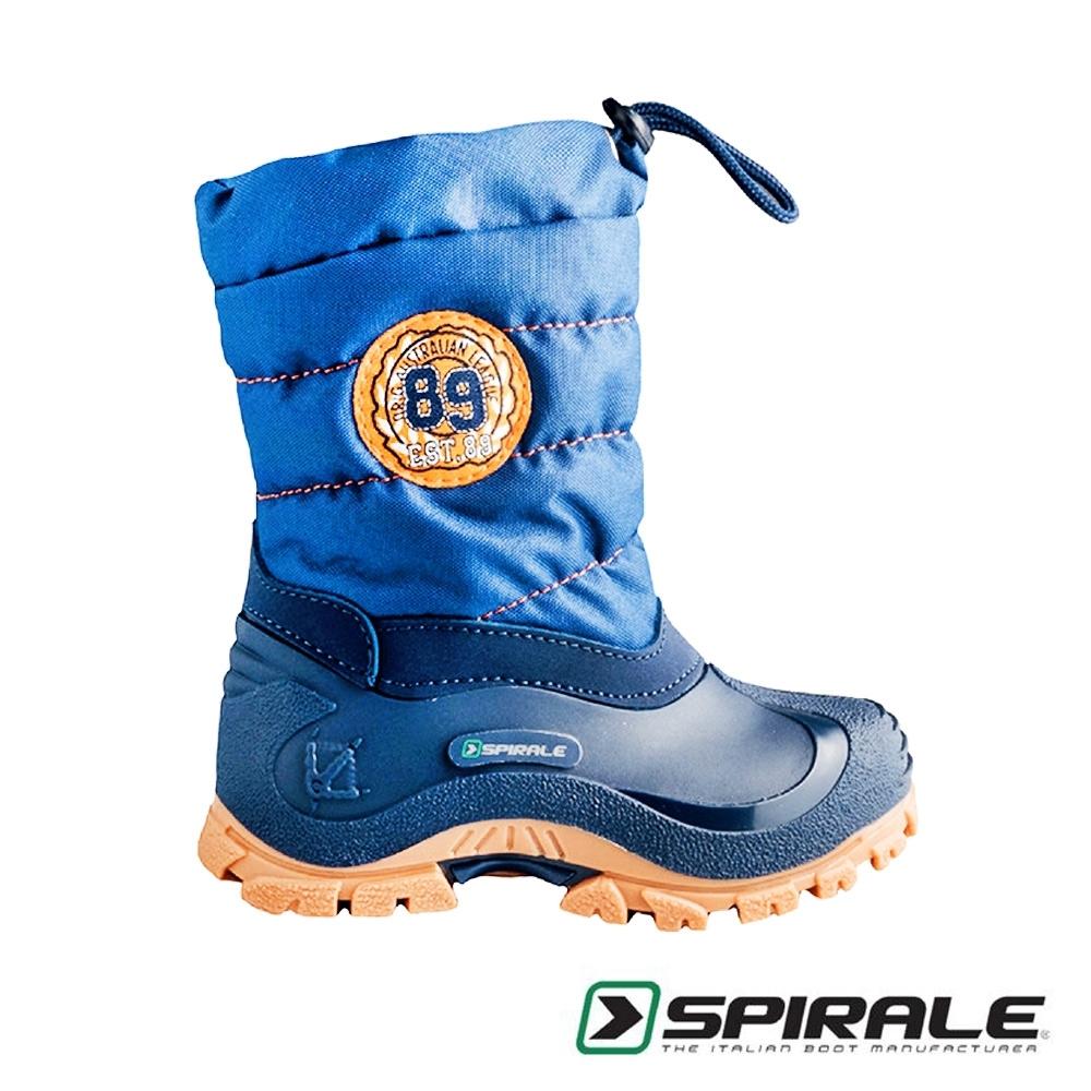 義大利SPIRALE Eric童靴/雪靴 金剛藍