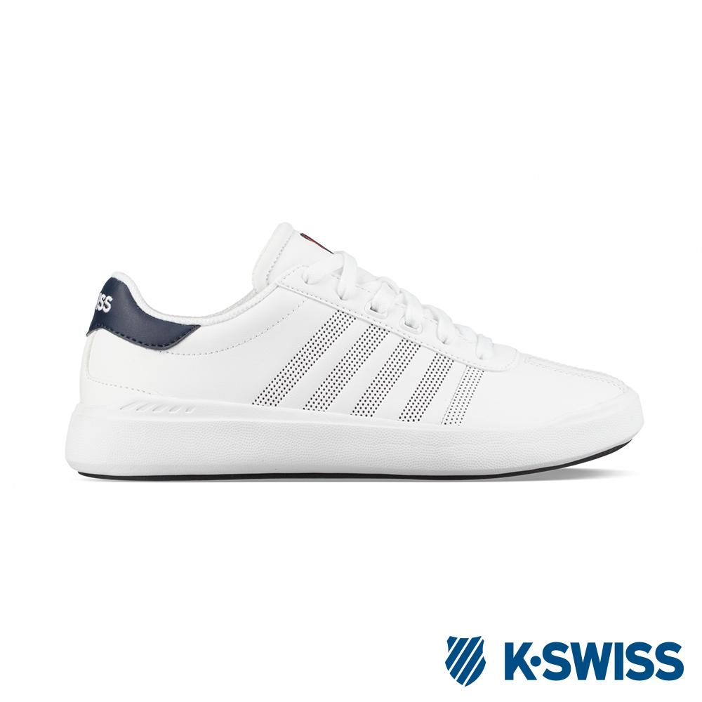 K-SWISS Heritage Light L休閒運動鞋-男-白/藍