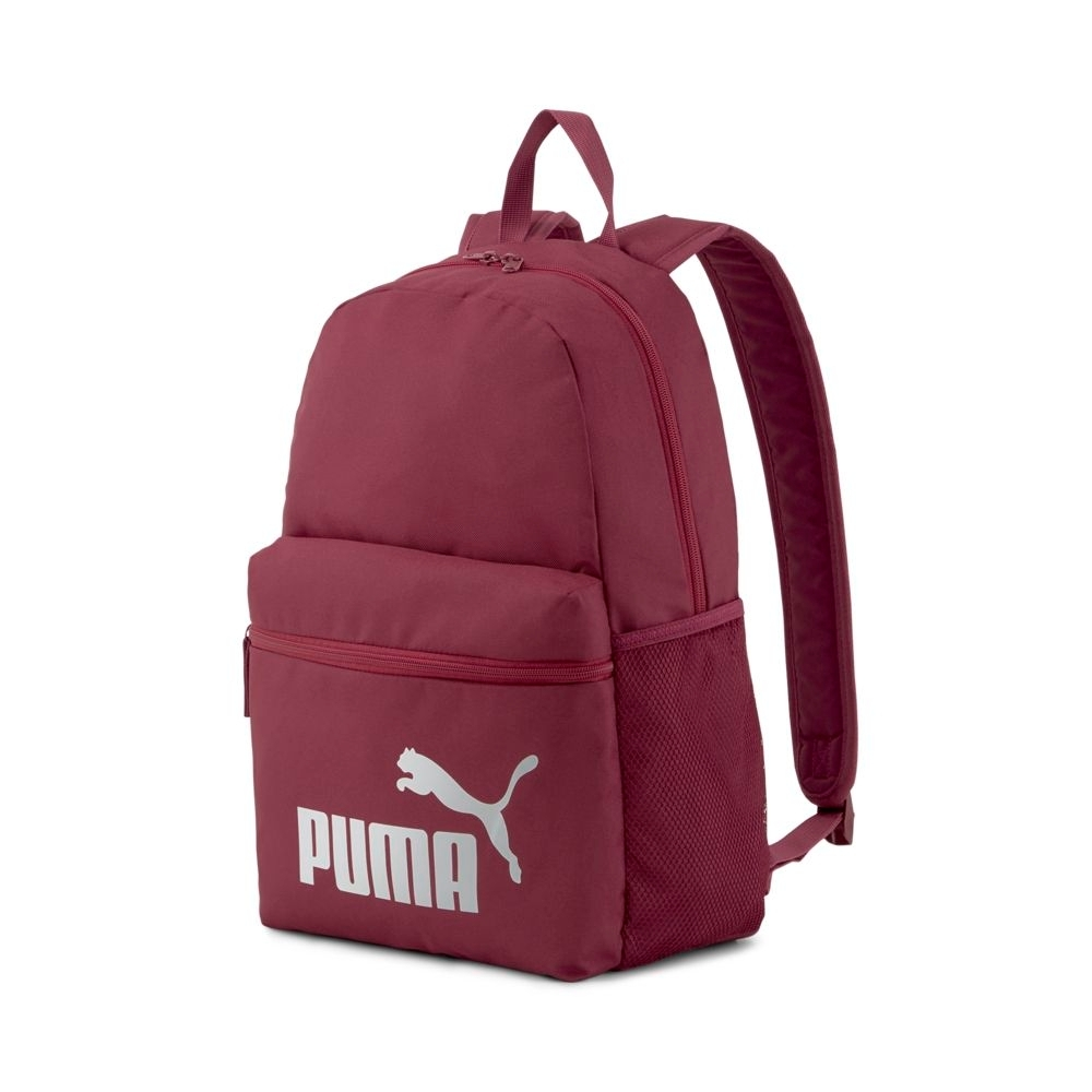 PUMA Phase後背包-酒紅-07548748