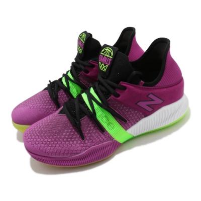 New Balance 籃球鞋 OMN1S 中筒 明星 男鞋 Kawhi Leonard 避震 紫 綠 BBOMNLFC2E