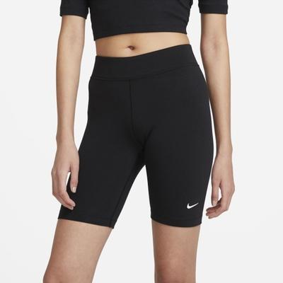 NIKE NSW ESSNTL MR BIKER SHORT 女 短褲 黑-CZ8527010