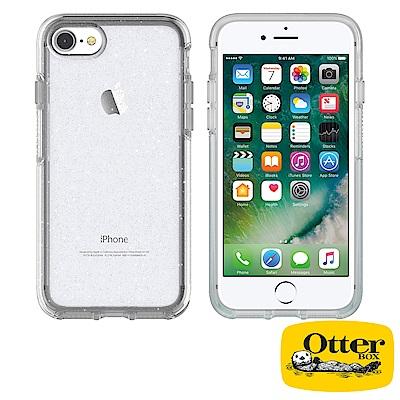 OtterBox iPhone7 / iPhone8炫彩幾何透明保護殼-冰雪晶透