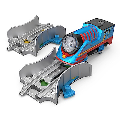 湯瑪士電動系列-TURBO合金車與變速軌道組_Thomas(3Y+)
