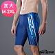 Heatwave熱浪 加大男泳褲 七分馬褲-藍洋(M-2XL) product thumbnail 1