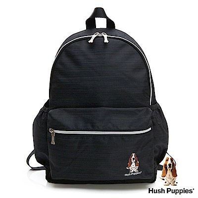 Hush Puppies 休閒後背包-深藍