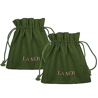 LA MER海洋拉娜 經典綠收納束口袋*<b>2</b>