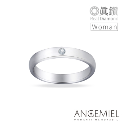 Angemiel 安婕米 鑽戒 Fortuna 承諾 女款. 鑽石 求婚 戒指 情侶戒指 幸運戒