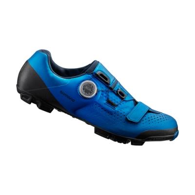 【SHIMANO】XC501 男性登山車鞋 藍色
