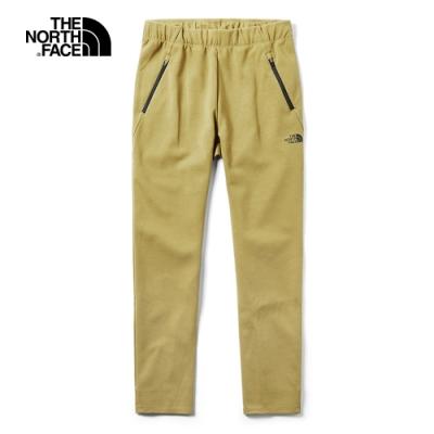 The North Face北面女款卡其色吸濕排汗運動休閒褲|3YVOD9V