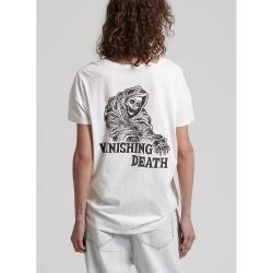 OneTeaspoon 短袖T恤 VANISHING DEATH-女(白)