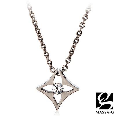 MASSA-G LJ系列【Thalia塔利亞】金屬鍺錠純鈦項鍊