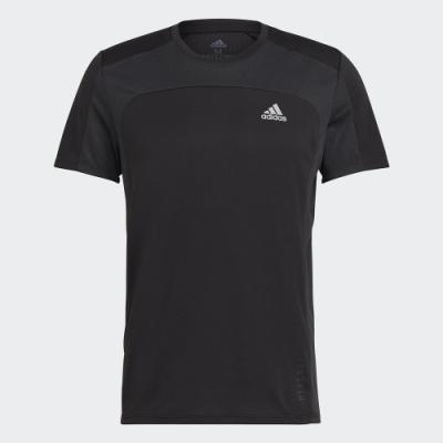 ADIDAS 短袖 短袖上衣 運動 慢跑 健身 男款 黑 GK4301 HEAT.RDY