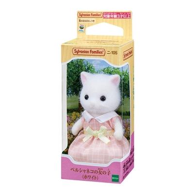 任選 日本 EPOCH森林家族 波斯貓姐姐 白 EP14053 原廠公司貨