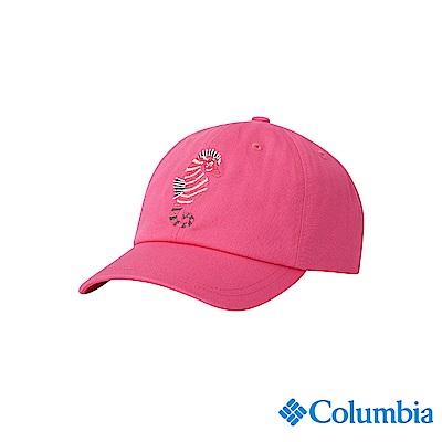 Columbia 哥倫比亞 兒童-UPF50棒球帽-桃紅 UCY00740FCFDS