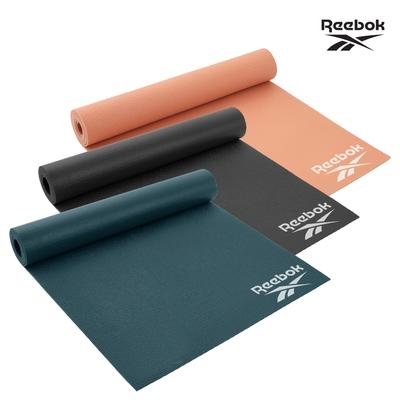 Reebok 輕薄防滑瑜珈墊-4mm二入組 [福利品]