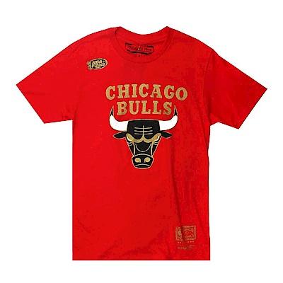 M&N NBA冠軍紀念T恤 公牛隊 紅