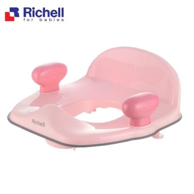 《日本-Richell》Pottis輔助便座-粉灰