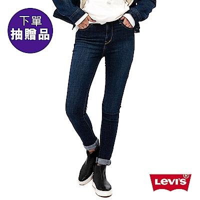 Levis 女款 711 中腰緊身窄管牛仔長褲 亞洲版型 高彈力布料