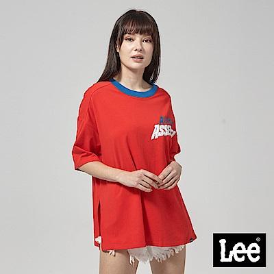 Lee X Marvel聯名短袖圓領TEE-紅