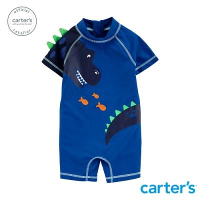 carter's台灣總代理 恐龍立體造型泳衣連身裝