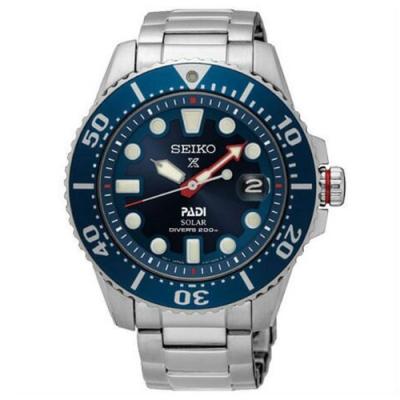 SEIKO精工 Prospex PADI 聯名太陽能200米潛水限量錶 SNE435J1