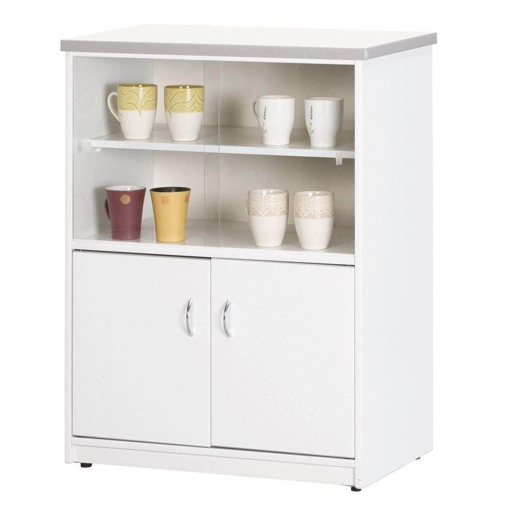 顛覆設計 防水塑鋼2.2尺碗碟櫃/收納櫃(四色可選)-67x41x90cm