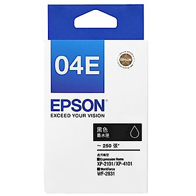 EPSON T04E150 黑色墨水匣