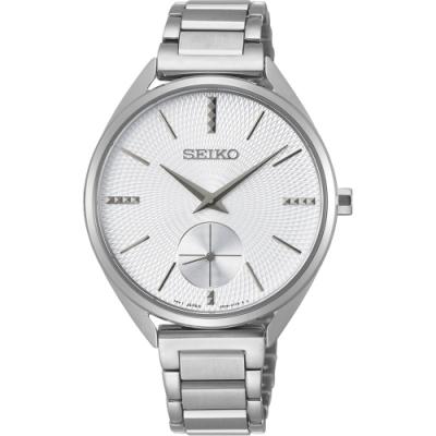 SEIKO 精工 CS 優雅時尚小秒針女錶(SRKZ53P1)