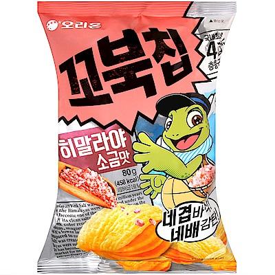Orion 烏龜玉米脆餅-玫瑰鹽味(80g)