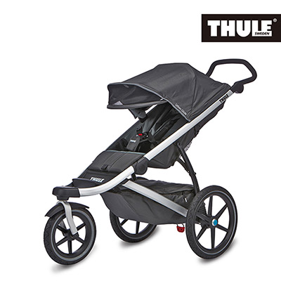 Thule 都樂-Urban Glide單人三輪嬰兒手推車(灰黑色)