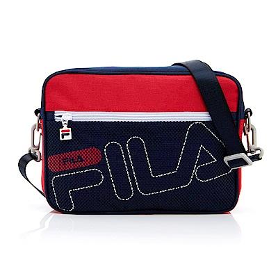 FILA 中型斜肩包-紅 BMT-1103-RD