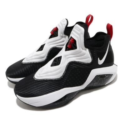 Nike 籃球鞋 Lebron Soldier XIV 男鞋 輕量 避震 包覆 球鞋 明星款 運動 黑 白 CK6047002