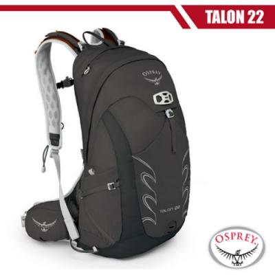 OSPREY 新款 Talon 22 極輕量健行登山背包__黑 R