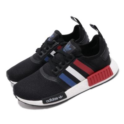 adidas 休閒鞋 NMD R1 襪套式 流行 女鞋 海外限定 愛迪達 三葉草 Boost 穿搭 黑紅 F99712