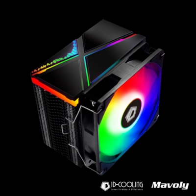 ID-COOLING 自帶控制器 SE-234 ARGB 高效CPU散熱風扇