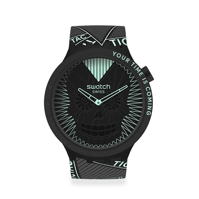 Swatch BIG BOLD系列 RUN BUT YOU CAN T HIDE (47mm)