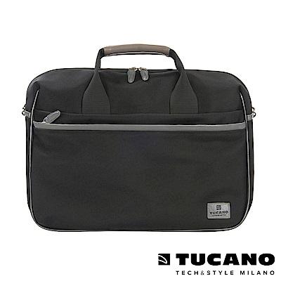 TUCANO EDGE 時尚側背手提二用包 15吋-黑
