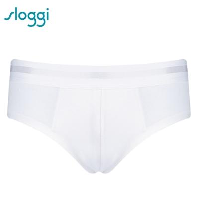sloggi men-S Simplicity系列合身三角褲 M-XL 純淨白 Y90-412 03