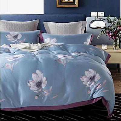 Lily Royal 60支頂級天絲 四件式兩用被床包組 雙人 艾莉絲