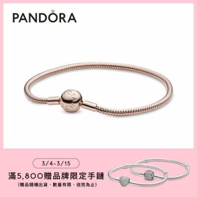 【Pandora官方直營】 Moments經典蛇型手鏈
