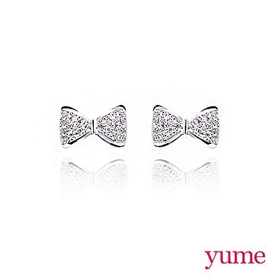 YUME 鑽石結耳環