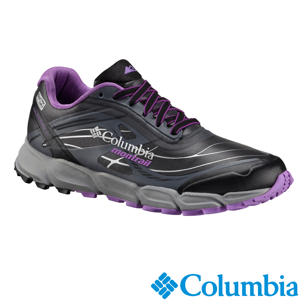 Columbia 哥倫比亞 女款-Outdry防水野跑鞋-黑色UBL46350