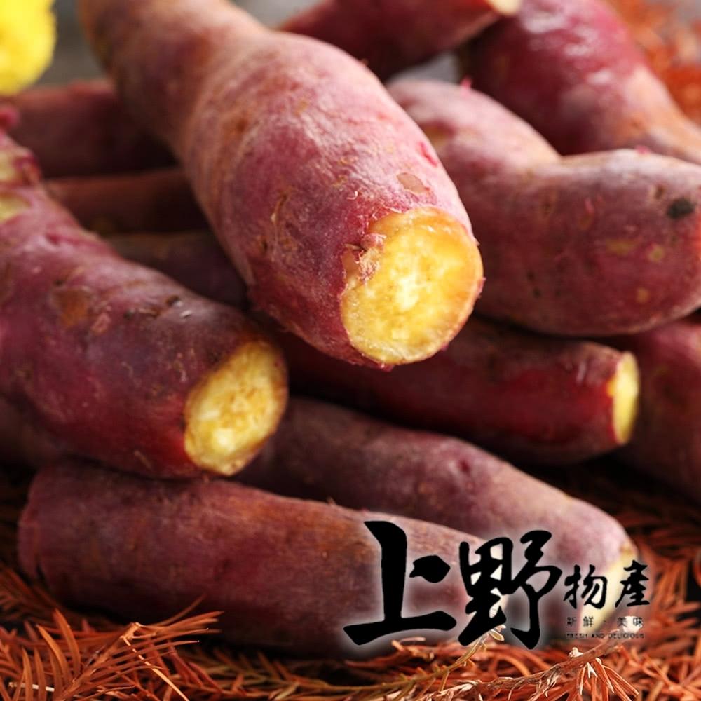 上野物產日光栗香地瓜 x4包( 600g土10%/包)