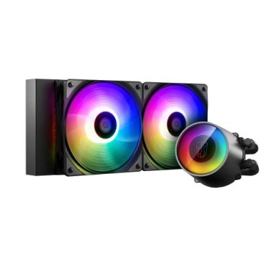 DEEPCOOL九州風神 堡壘系列 CPU水冷散熱器 – CASTLE 240RGB V2