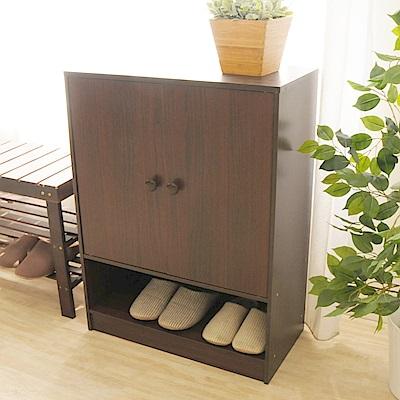 《HOPMA》DIY巧收雙門四層鞋櫃