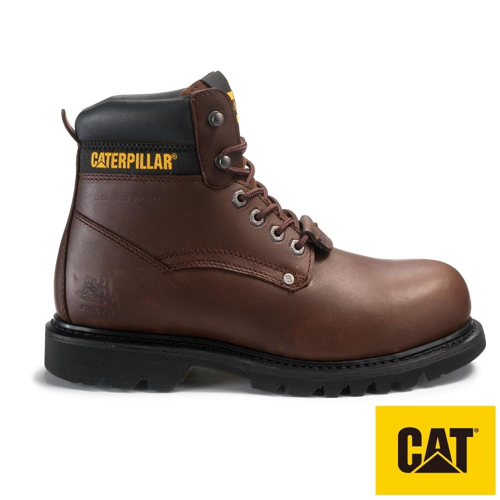 【CAT】COMBUSTION ST  抗電擊牛皮工作靴(701130)