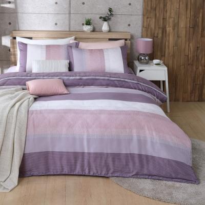 岱思夢 加高天絲床罩六件組 加大6x6.2尺 時尚韻味-咖