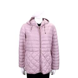 [跨年保暖必備 搶殺42折] Max Mara 90%優質鵝絨絎縫連帽羽絨外套-3色可選
