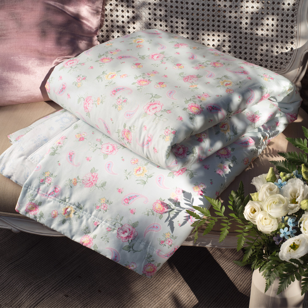 BBL Premium 愛麗絲100%精梳棉印花涼被(單人)