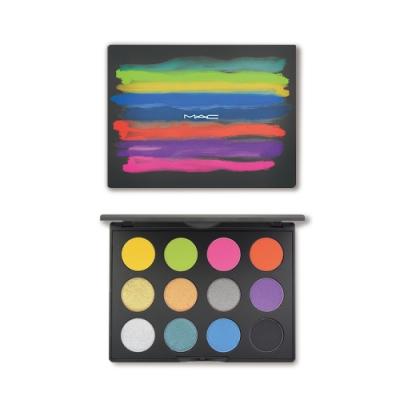 (即期品)M.A.C 時尚專業12色眼影盤#IT'S DESIGNER大藝術家 17.2g